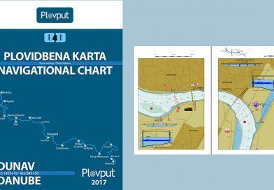 Plovput publikovao treće izdanje Plovidbene karte Dunava