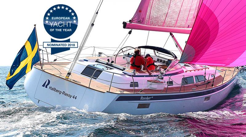 European Yacht of the Year 2018 – nominacije